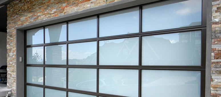 Custom Glass Garage Doors in Tulsa